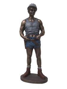 Carpenter Statue Figurine 27cm(H) x 10cm(W) x 6cm(D)
