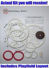 1974 Gottlieb Duotron Pinball Rubber Ring Kit