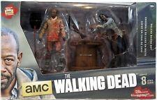AMC The Walking Dead Morgan & Impaled Walker