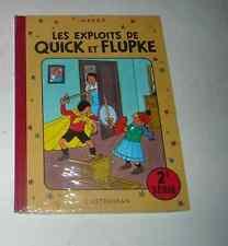 QUICK ET FLUPKE SERIE 2 SOUS CELLO RE Hergé (auteur Tintin )