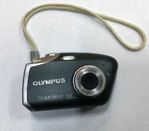 Olympus Stylus Verve 4.0MP Digital Camera - Black