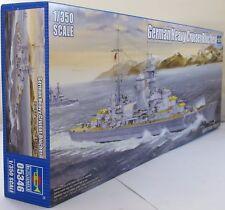 Trumpeter 1:350 05346 alemán crucero pesado Blücher kit modelo de barco