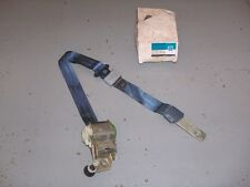 AC Delco 1983-84 Olds Cutlass GM NOS Deluxe Front RH Retractor Seat Belt R Blue