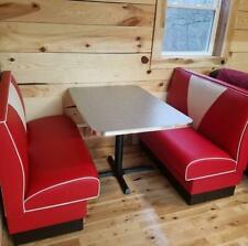 New Custom Built Dinette Set Retro Booth V Back Style