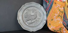 Old Swedish Pewter Plate …beautiful collection & display piece