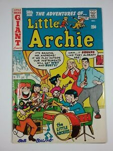 Little Archie #50 Signed by Bob Bolling