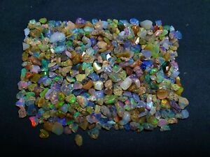 Natural Ethiopian Opal Polish Rough Loose Gemstone Lot 100 CT