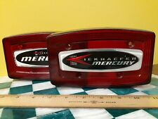 Kiekhaefer Mercury Snowmobile Tail Light Covers (2) Vintage Snow Mobile Parts