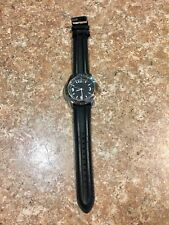 5.11 Tactical Sentinel Watch 58858 Black Leather 30M Stainless Steel
