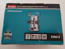 """Makita (DRT50ZJ) Cordless XTR01Z 18V Brushless 1/4"""" Router Trim. Tool only NoBox"""