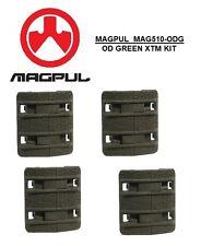 MAGPUL - MAG 510-ODG Enhanced XTM OD GREEN Textured Rail Cover Kit - 4pcs