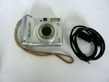 Silver Canon PowerShot A550 7.1MP Camera w/ USB Cable & SD Card