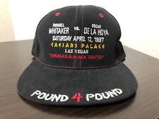 Vintage Oscar DeLaHoya vs Pernell Whitaker Baseball Hat Cap BOXING SnapBack