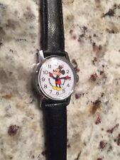 Vintage Bradley Mickey Mouse Walt Disney Productions Wrist Watch Swiss Made