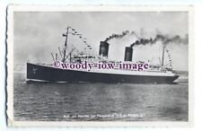 LS00346 - French CGT Liner - Ile de France - postcard