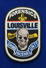Forensic / CSI Police Patch - Kentucky #PUS1