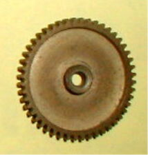 """48 Tooth Super Light Solid Brass Spur Gear 48 Pitch 1/8"""" Hole NOS Slot Car #852"""