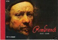 Nederland Prestige Prestigeboekje PR 11 Rembrandt 2006 Postfris