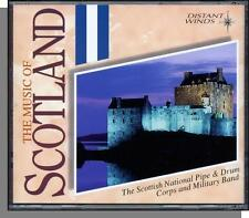 The Music of Scotland (1995) - Pipe & Drums Band - New 16 Song CD!
