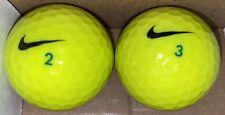 New listing Nike RZN White Neon Yellow Golf Balls