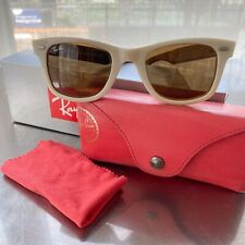 Rare Ray Ban Wayfarer RB2140 Sunglasses Brown Lens Limited Edition Collective