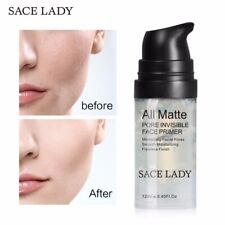 Face Primer Natural Matte Make Up Foundation Pores Invisible Cosmetic Skin Oil