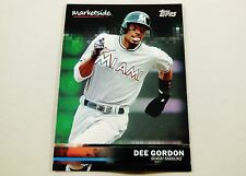 2016 Topps Wal-Mart Marketplace Baseball Card Dee Gordon Miami Marlins