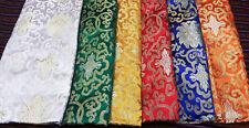 Tibetan Buddhist traditional high quality lotus design silk brocade / fabrics