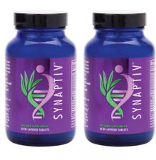 Youngevity Synaptiv by Dr. Wallach for Instant Mental Clarity 1 Set Of 2 Synapti