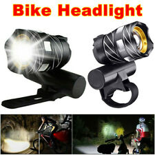Rechargeable Bicycle Light Bike Front Headlight 15000LM XM-L T6 LED MTB w/USB