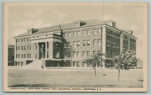 Aberdeen SD~Lincoln Hall Northern Normal & Industrial School~Vintage PC
