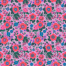 Amy Butler CPAB001 Soul Mate Grand Bouquet Melon Cotton Fabric By Yard