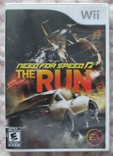 Nintendo Wii Need for Speed the Run (Manual, box and game)