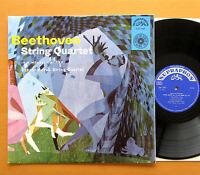 SUA 10247 Beethoven Quartet Op 132 Czechoslovak Quartet NEAR MINT Supraphon Mono