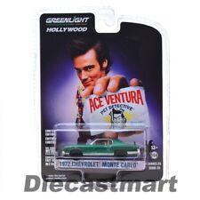 Greenlight 1:64 Ace Ventura Pet Detective 1972 Chevy Monte Carlo 44850F Chase