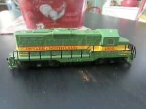 h o trains: A non running COX  ONTARIO NORTHLAND road diesel--needs brush for mo