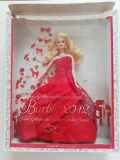 Barbie Collector Holiday 2012 Winterglanz Mattel