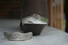 stiefelschmuck stiefelferse metall  neu  2 stück   accessoires  accessoir boots