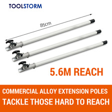 3X Extension Poles For TOOLSTORM 4-STROKE Brush Cutter Chainsaw Trimmer Backpack