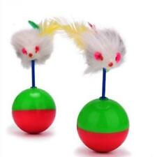 Funny Kids Cute Pet Cat Training Play Toy Mouse Tumbler Ball Z