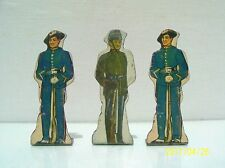 MARX TIN LITHOGRAPH SOLDIERS OF FORTUNE 12MA ITALIAN & 13MA KINGS ROYAL RIFLE VG