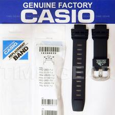 CASIO 10390035 ORIGINAL FACTORY BLACK BAND FOR PROTREK PRG-250 PRG-510 PRW-2500