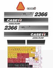 Case IH 2366 Harvester Decal / Adhesive / Sticker Complete Set