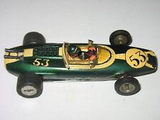 1960's 1/24 Retro Indy Lotus Racer Slot Car Pittman Motor #53 Aluminum Chassis