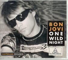 Bon Jovi: One Wild Night, 4 Track & 2 Video Enhanced CD