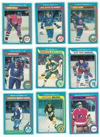 70s and 80s HOCKEY SINGLES CHOOSE