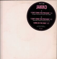 "Jakko(Promo 12"" Vinyl)I Can't Stand This Pressure-Chappel Music-BUY IT -Ex/NM"
