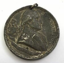 1887 CENTENNIAL of the ADOPTION of US CONSTITUTION WASHINGTON & MADISON MEDAL