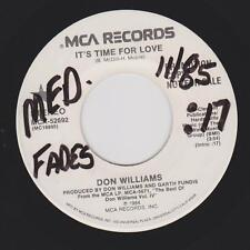 DON WILLIAMS {80s C&W} It's Time For Love ~ PROMO