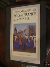 livre art les manuscrits des rois france au moyen age